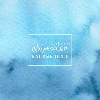 Blue gradient aquarelle fond