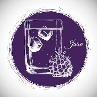 Boire icône design