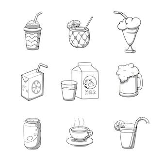 Boire des icônes collection