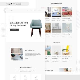 Bois marché vente bois conception de l'interface utilisateur