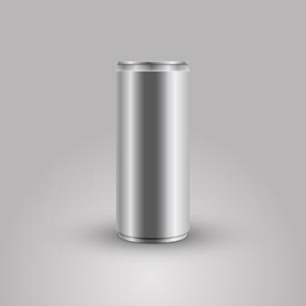 Boisson énergétique peut vector illustration maquette