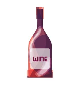 Boisson à liqueur de bouteille de vin