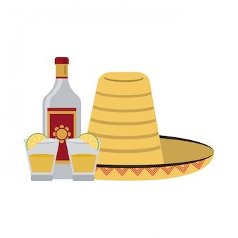 Boisson mexicaine tequila