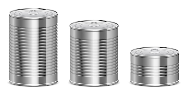 Boîte de conserve design illustration isolé