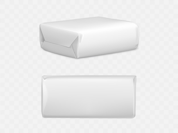 Boîte d'emballage de colis enveloppé
