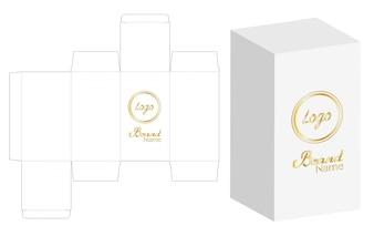 Boîte emballage die design de modèle de découpe