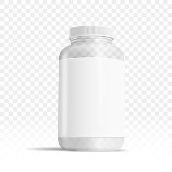 Boîte de médecine en plastique