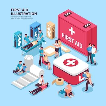Boîte de premiers secours