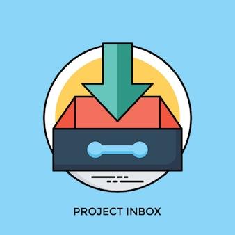 Boîte de réception du projet