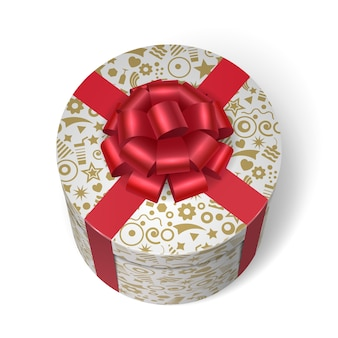 Boîte surprise avec des cadeaux et des cadeaux