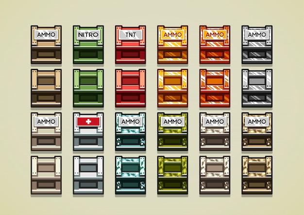 Boites 3d pour jeux vidéo