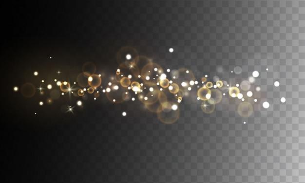 Bokeh abstrait lumière floue