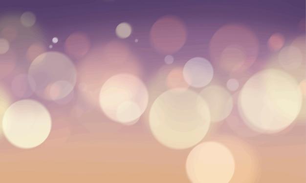 Bokeh abstrait lumières brouillées wallpaper