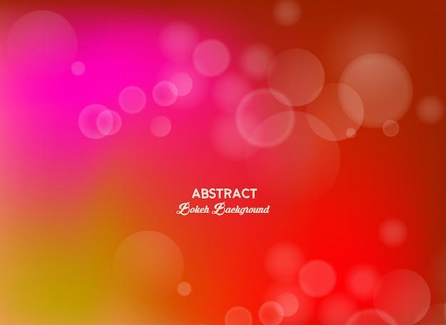 Bokeh abstrait