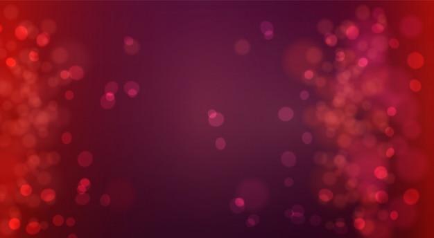 Bokeh fond défocalisé lumières