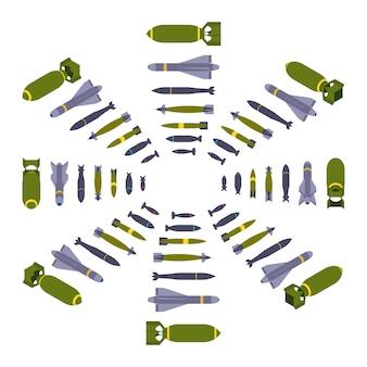 Bombes aériennes isométriques