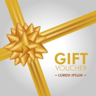 Bon cadeau avec promo spéciale