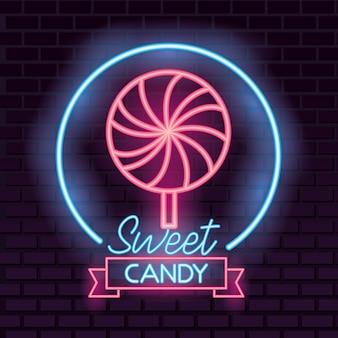 Bonbon bonbon néon