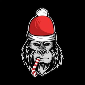 Bonbons gorille noel