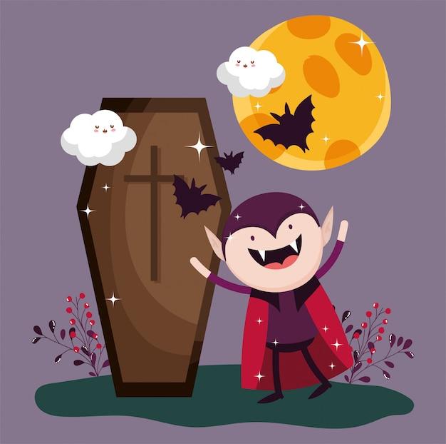 Des bonbons ou un sort pour un joyeux halloween