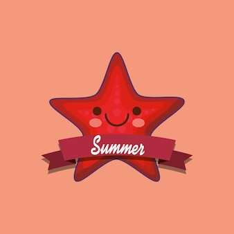 Bonjour conception de l'été