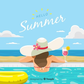 Bonjour été