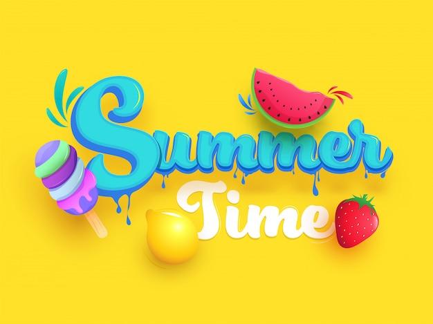 Bonjour fond d'été.