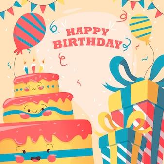 Bonjour joyeux anniversaire