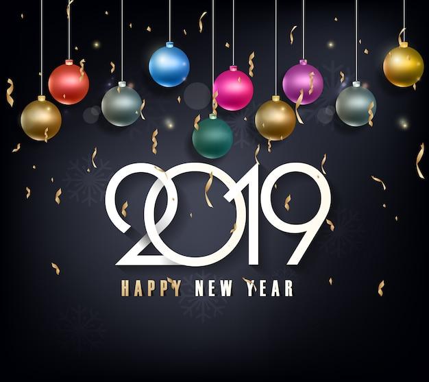 Bonne année 2019 et joyeux noël