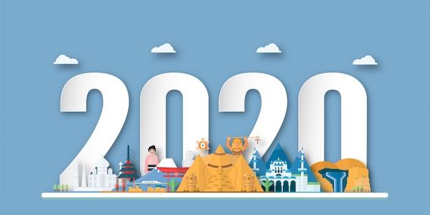 Bonne année 2020, année du rat