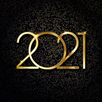 Bonne année 2021 fond