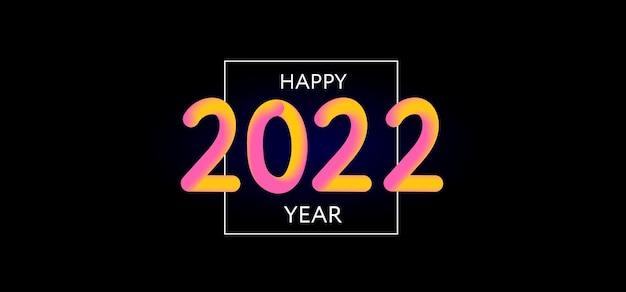 Bonne année design d design moderne pour calendrier invitations cartes de voeux vacances flyers ou p ...