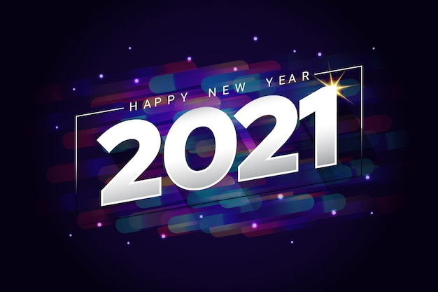 Bonne année deux mille vingt et un