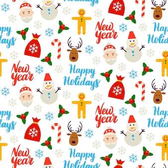 Bonne année fond transparent. illustration vectorielle. modèle de vacances d'hiver.