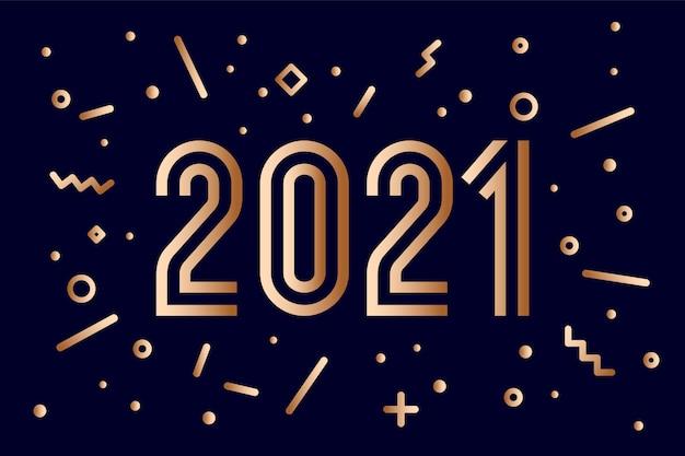 Bonne année illustration