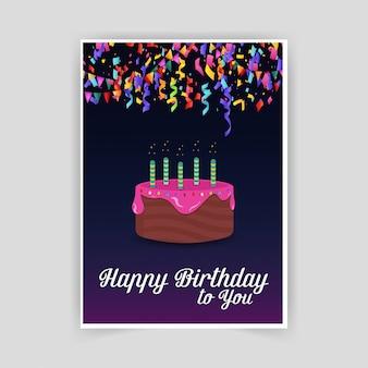 Bonne carte d'anniversaire