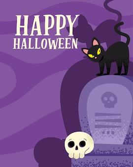 Bonne carte d'halloween