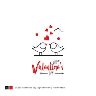 Bonne carte de saint valentin. fond de lettrage de vecteur