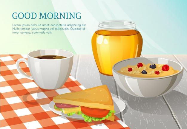 Bonne composition du matin