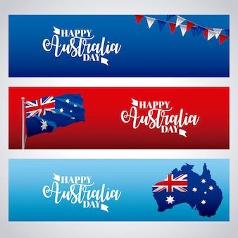 Bonne fête de l'australie