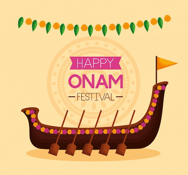 Bonne fête du festival onam