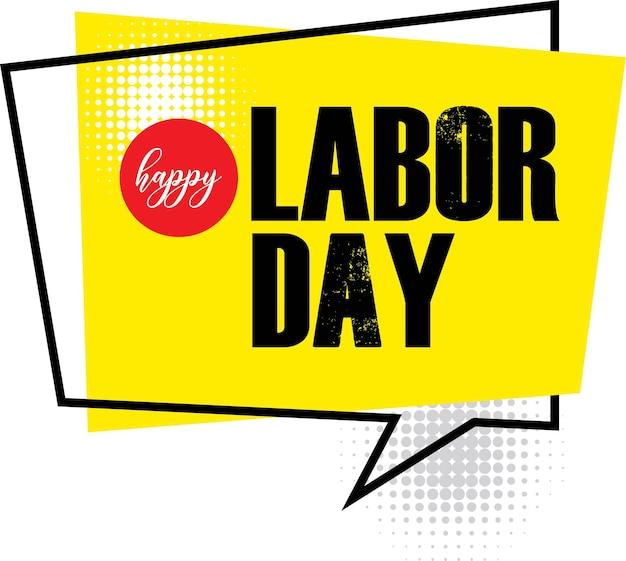 Bonne fête du travail fête du travail bannière de la fête du travail bonne fête du travail fond