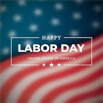 Bonne fête du travail une fête nationale des états-unis