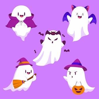 Bonne fête d'élément d'objet halloween (des bonbons ou un sort)