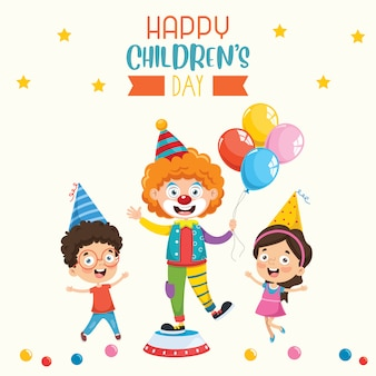 Bonne fête des enfants