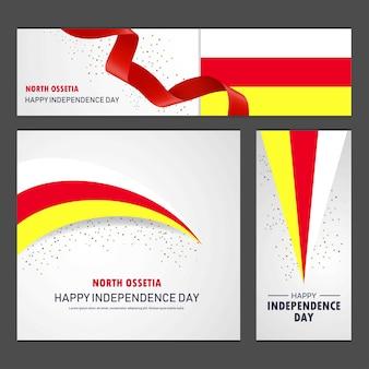 Bonne fête de l'indépendance en ossétie du nord