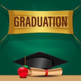 Bonne fête de remise des diplômes