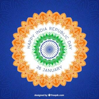 Bonne fête de la république de l'inde contexte