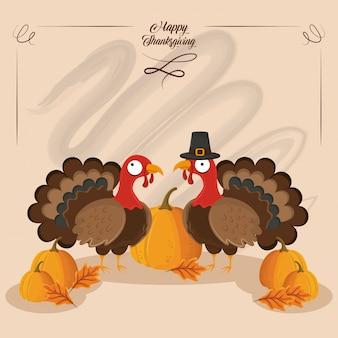 Bonne fête de thanksgiving