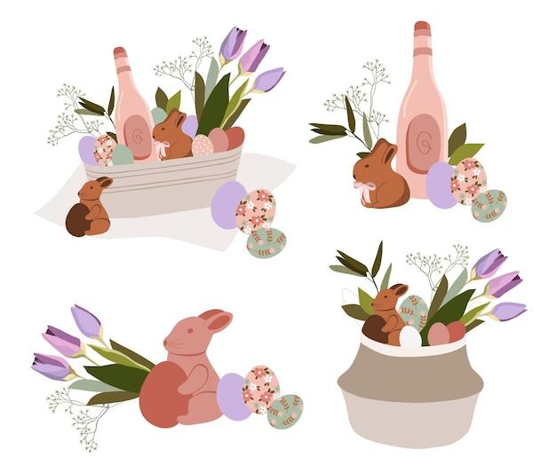 Bonne illustration de pâques.